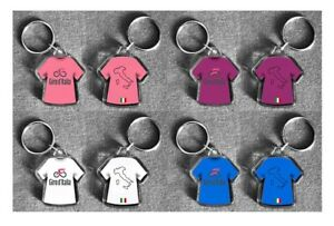 GIRO d'ITALIA t-shirt / jersey keyring; cycling ineos Froome Cavendish Thomas