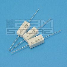 3 pz Resistenza ceramica 5W 470 ohm resistenze - ART. HL09