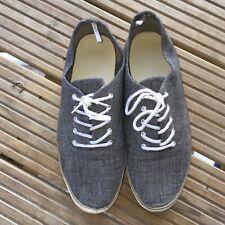 Primark Size 9 Grey Trainers Pumps Vintage Retro 00s Shoes