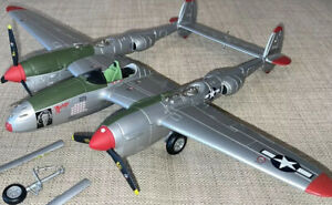 RARE! Franklin Mint Armour 1:48 P-38 Lightning USAAF Marge B11B612 **READ**