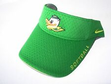 new nike university oregon ducks/puddles mascot strapback/SB visor/cap softball