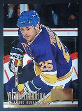NHL 188 Vitali Prokhorov St. Louis Blues Fleer Ultra 1994/95