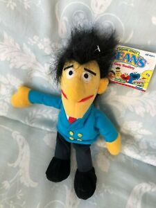 Jim Henson Sesame Street - GUY SMILEY - Beanie Plush Toy - BNWT - 1997