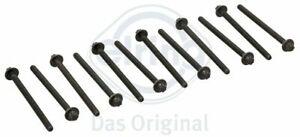 Cylinder Head Bolts Set Fits Vauxhall/Suzuki/Opel 1.2/1.4 Petrol Engines 125.930