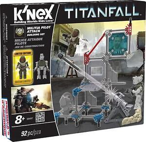 K'Nex Titanfall Militia/ IMC Pilot Attack Building Set