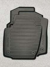 SKODA RAPID ***BRAND NEW & GENUINE*** SET OF RUBBER FLOOR MATS 5JC061550