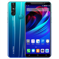 """4G LTE GSM 6.3"""" Android 9.1 SmartPhone Fingerprint ID AT&T T-Mobile GSM Unlocked"""