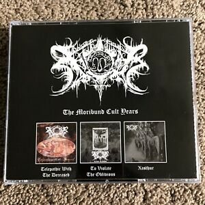 xasthur the moribund cult years 3x CD