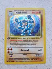 Pokemon Karte Machomei 1. Generation Basis Set