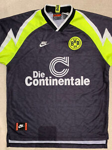 Borrusia Dortmund Vintage Nike Football Shirt XL