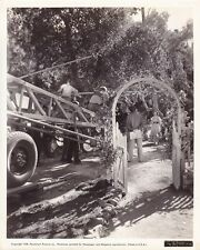 OLYMPE BRADNA Original CANDID Camera Crew Studio Set Vintage 38 Paramount Photo