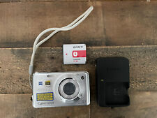 Sony Cyber-shot DSC-W230 12.1MP Digital Camera - Silver