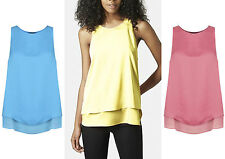 Crew Neck Blouses Classic Sleeveless Tops & Shirts for Women