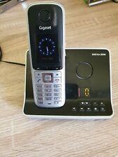 Gigaset S810A  ISDN Schnurlostelefon - Stahlgrau (S30852-H2326-B101)