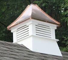 Nantucket Composite Vinyl Cupola Copper Garage Barn Building Roofing Structure