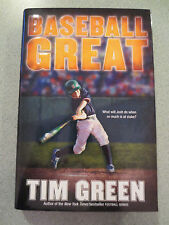 Baseball Great: Baseball Great by Tim Green Signed (2009, Hardcover)