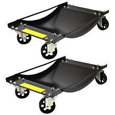 Paire de chariots de roue Skate Voiture Van Chariot de positionnement 450kg Jack