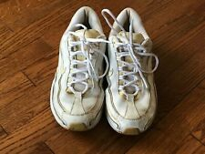 Women's Nike Air White Tennis Shoes Size 10