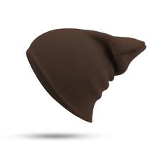 Mens Womens Plain Beanie Hat Knit Ski Cap Warm Solid Color Winter Cuff Thermal