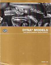 2009 Harley Dyna FXD Service Repair Shop Workshop Manual Book 99481-09