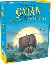 Catan Scenarios Legend Of The Sea Robbers Expansion Catan Studios Settlers