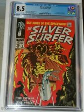 Silver Surfer  #3  CGC 8.5  1968  First 1st appearance of Mephisto