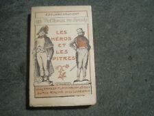 Edouard DRUMONT: les tréteaux du succès: les héros et les pitres 1900 illustré