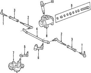Genuine Ford Outer Tie Rod F4TZ-3A131-A