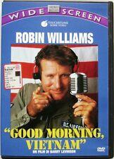 Dvd Good Morning, Vietnam - ed. Widescreen di Barry Levinson 1987 Usato raro
