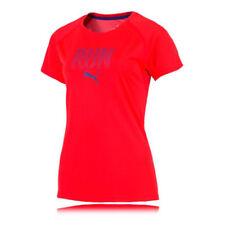 Abbigliamento da donna rosso PUMA per palestra, fitness, corsa e yoga