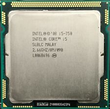 Intel Core i5-750 2.66GHz 2.5 GT/s Quad-Core SLBLC CPU LGA1156 HP DELL ACER IBM