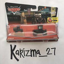 SEALED Disney Pixar Cars Radiator Springs Stanley 13/14 And Lizzie 14/14