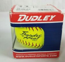 "Dudley Asa Certified 11"" Leather 1 Fast Pitch Softball Cor. 47/375 Model 4A-531P"