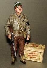 1:18 U.S Army WWII Military Police Figure Fit BBI Elite Force Ultimate Soldier