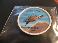 1961 JELL-O HOSTESS AIRPLANE SERIES COIN 1891 GLIDERS #5
