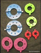 Aparato para fabricar pompones, incluye para hacer 4 medidas de pompon