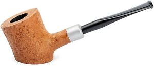 Dr. Watson - Wooden Tobacco Smoking Pipe, Hand Carved of Briar Root, Poker Shape