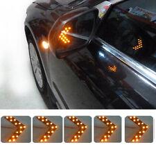 Good 2Pcs 14 SMD LED Arrow Panel For Car Rear Mirror Indicator Turn Signal Light