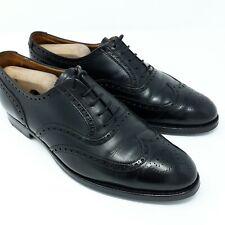 Crockett & Jones London Full-Brogue Oxford 'Black Calf' (EU 42,5 UK 8,5 US 9 F)