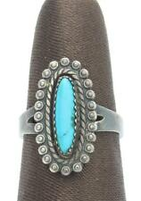 Bell Trading Post Sterling Silver & Turquoise Native American Ring Southwest