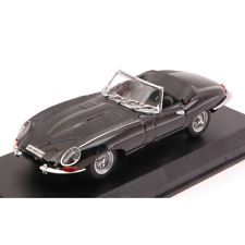 JAGUAR E TYPE SPYDER 1962 BLACK 1:43 Best Model Auto Stradali Die Cast