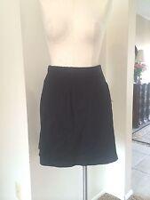 Vintage Catalina Black Knit Jersey Skort/Short