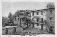 4413) BARGAGLI (GENOVA) BORGO NUOVO. VIAGGIATA NEL 1930.