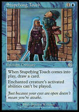 Stupefying Touch X4 LP Torment MTG Magic Cards Blue Enchantment
