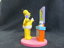 """At Home w/ Homer """"Homer's Hair Dream"""" The Hamilton Collection Mint Condition"""