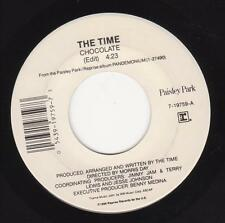 "The Time Morris Day ""Chocolate"" USA 7"" vinyl single Prince"