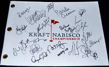 OCHOA Creamer MIYAZATO Webb GULBIS + Signed KRAFT Flag