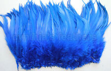 "100+ Royal Blue 5-7"" saddle COQUE rooster hackle Feathers for craft, Cynthia's"