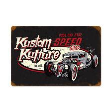 Motorcult Kustom Kulture So Cal Speed Shop Hot Rod Retro Sign Blechschild Schild