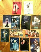 "Disney WDCC POSTCARD Set of (22) 4"" X 6"" Postcards & 2 Cards 3"" X 5""(ALL 24 NEW)"